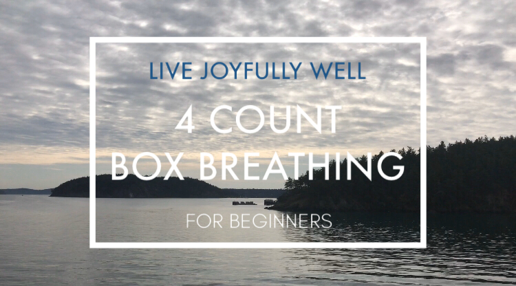 4 count box breathing
