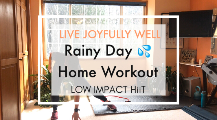 Rainy Day Home Workout