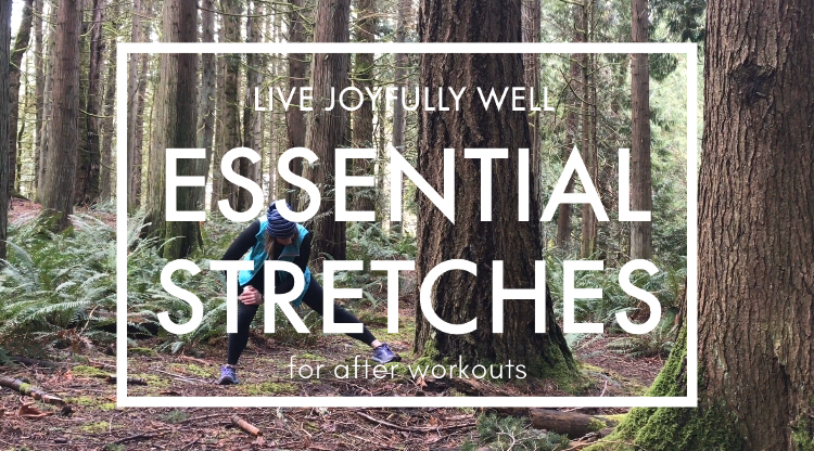 Essential stretches for after workouts