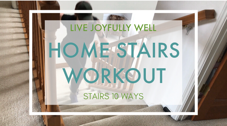 Home stairs cardio workout