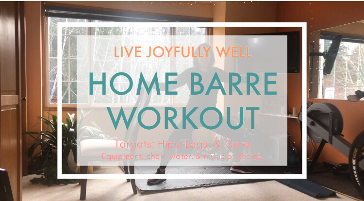 Home barre workout